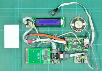 Radio-frequency identification (RFID) reader kit