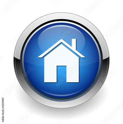 home web blue button