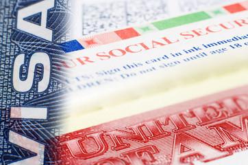 visa social security