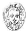 Kingdom France Middle-Ages : Seal - Sceau - Siegel