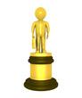 Golden prize for businessman