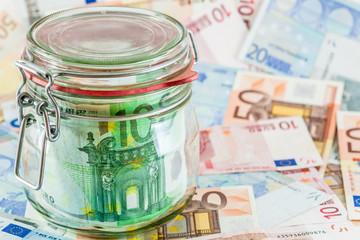 Ersparnisse - Euro