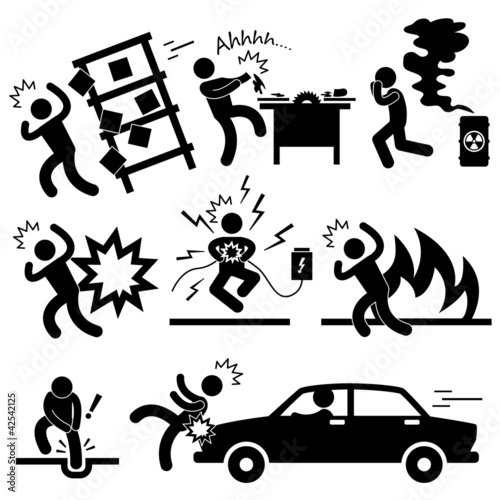Car Accident Explosion Electrocuted Fire Danger Risk