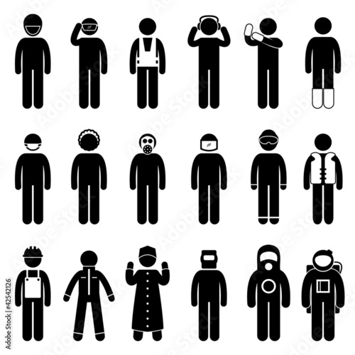 Worker Construction Proper Safety Attire Uniform Wear Cloth