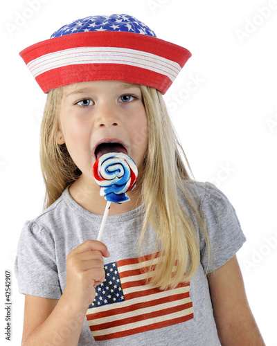 Licking Patriot