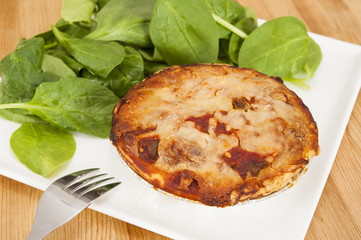 Vegetarian Chili Pie