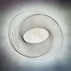 abstract light trail swirl
