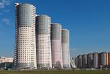 Fototapete Gebäudeteil - Stadt - Außen