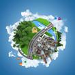world globe concept