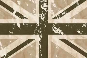 Old England Flag - Bandiera Inglese Vintage