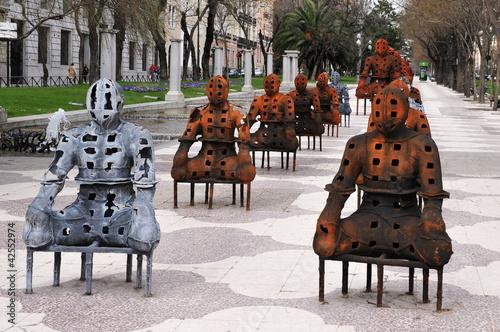 Fotobehang Madrid Travel Photos of Spain - Madrid Cityscape