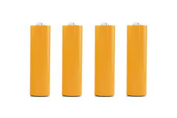 Batterien orange