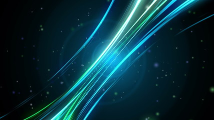Abstract rainbow background color wave animation