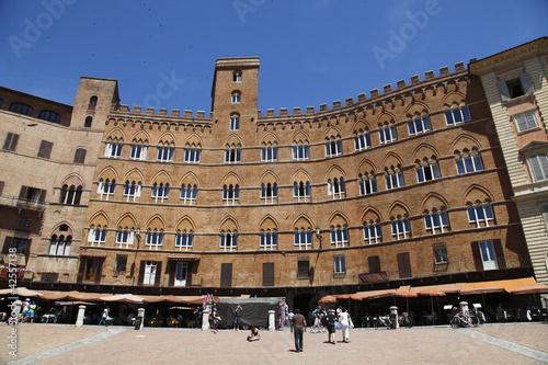 Siena, piazza del Campo dei Miracoli