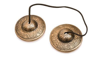 Tibetan bells used to begin and end meditation