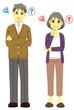 老夫婦(悩み)