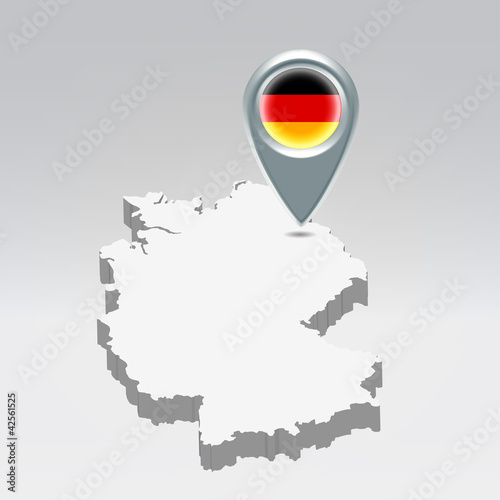 Germany geo location background