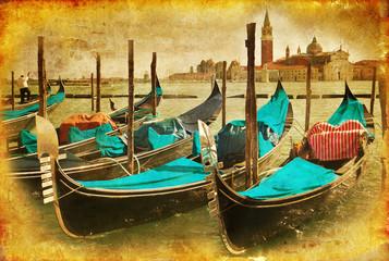 Venezia e gondole