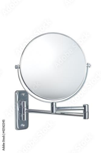 Leinwanddruck Bild wall cosmetic mirror