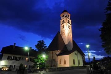 Kirche in Deutschnofen Südtirol