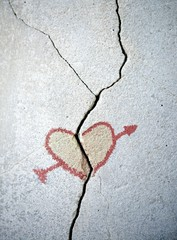 Разбитое сердце.