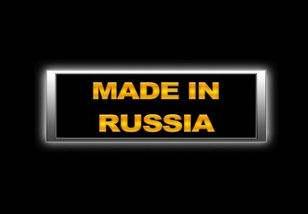 Made in Russia.