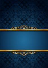 Mavi yazı zemini