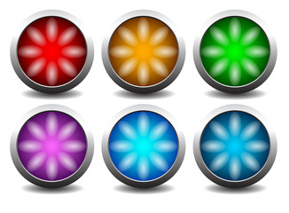 buttons with lights