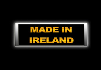 Made in Ireland.