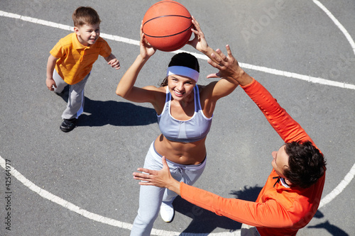 Basketball amateurs