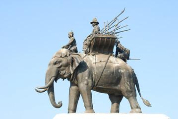 King Naresuan at Suphanburi province