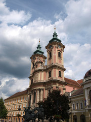 The Franciscian church in Eger