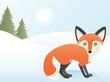 Abstract Fox Scene
