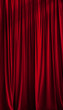 Red curtain  b