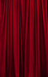 Red curtain c
