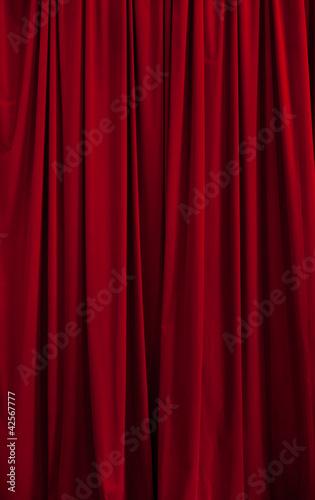 Red curtain c