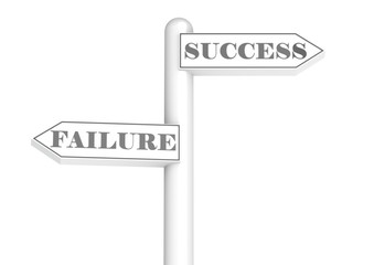 road sign success failure