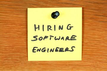 Software engineer career - job ad