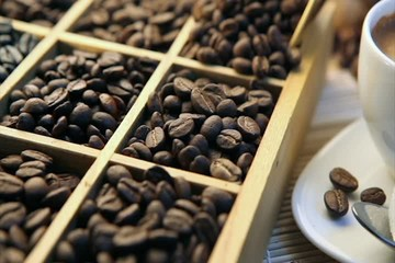 tasting coffee