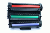 Red Green Blue cartridges for laser printers