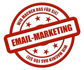 Sternen Stempel rot rel rt WMDFS EMAIL-MARKETING