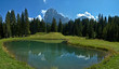 Lake and Langkofel
