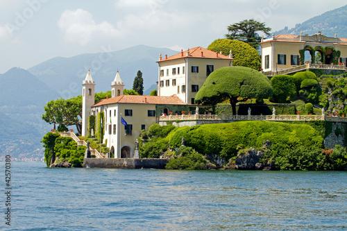 villa balbianello lago di como immagini e fotografie royalty free su file 42570380. Black Bedroom Furniture Sets. Home Design Ideas