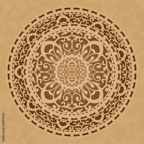 Vector illustration of oriental decoration