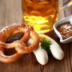 Weißwurst - rustikal