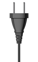 Vector illustration of electric plug