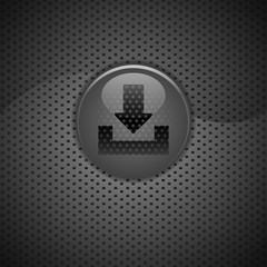 bouton internet arrow download carbon.