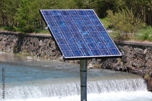 Solar cell / renewable energy