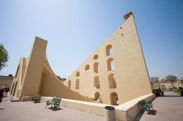 Astronomical observatory Jantar Mantar - Jaipur, India