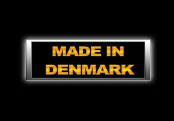 Made in Denmark.